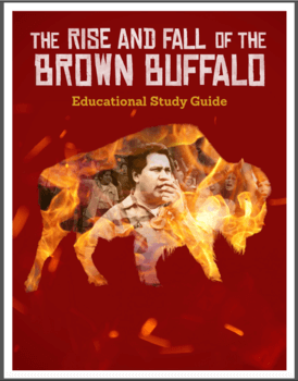 Educational Study Guide for Rise and Fall of the Brown Buffalo
