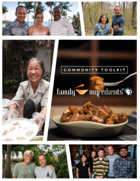 Community Toolkit for the PBS series, Family Ingredients