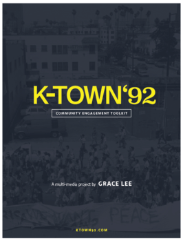 Community Toolkit for K-TOWN'92 by Grace Lee