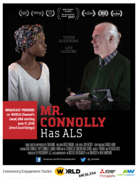 Community Engagement ToolKit for Mr Connolly Has ALS