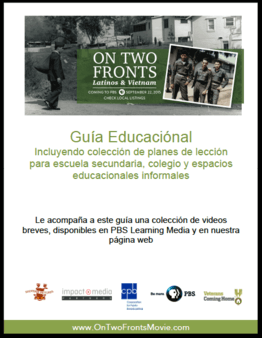 On Two Fronts: Educational Guide (Spanish)