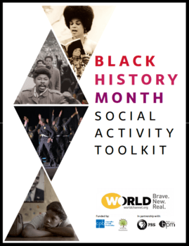 Social Activity Toolkit for WORLD Channel's #WORLDxBHM Campaign