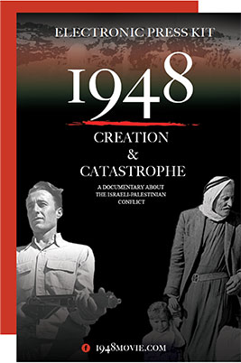 1948 Creation & Catastrophe: Electronic Press Kit